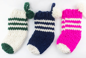 DIY Kit - 2 Christmas Stockings - Merino No. 5