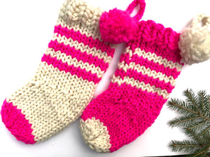 Knitting 102 - Christmas Stocking Class