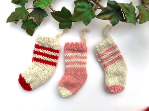 Christmas Stockings - Merino No. 5 AND Ornaments - Dream (Worsted)- PATTERNS