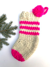Load image into Gallery viewer, Knitting 102 - Christmas Stocking Class