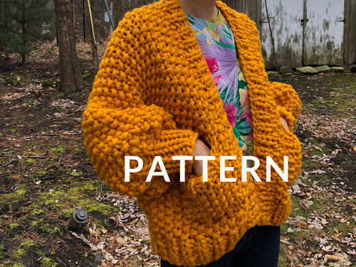 Everyday Cardigan PATTERN- Merino No. 5