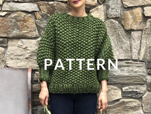 Everyday Sweater PATTERN- Merino No. 5