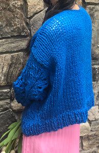 Peacock Plumes Sweater - Merino