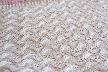 Load image into Gallery viewer, DIY Kit - My First Cable Baby Blanket - Big Cotton
