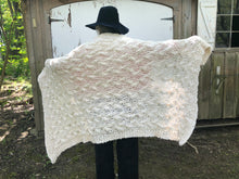 Load image into Gallery viewer, My First Cable Blanket PATTERN- Big Cotton