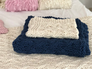 DIY Kit - My First Cable Blanket - Big Cotton