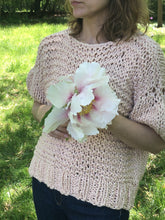 Load image into Gallery viewer, Puff Sleeve Top PATTERN- Big Cotton