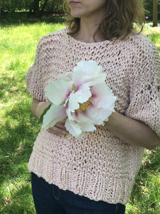 Puff Sleeve Top PATTERN- Big Cotton