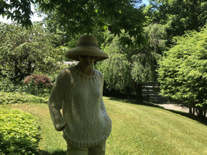 The Sweatshirt PATTERN- Summer yarn