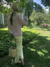 Load image into Gallery viewer, The Sweatshirt PATTERN- Summer yarn
