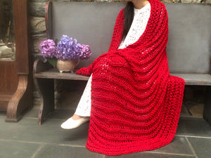 DIY Kit - Fisherman Rib Blanket - Big Cotton