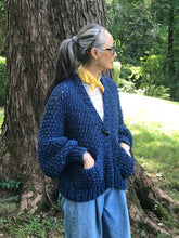 Load image into Gallery viewer, Everyday Cardigan PATTERN- Big Cotton