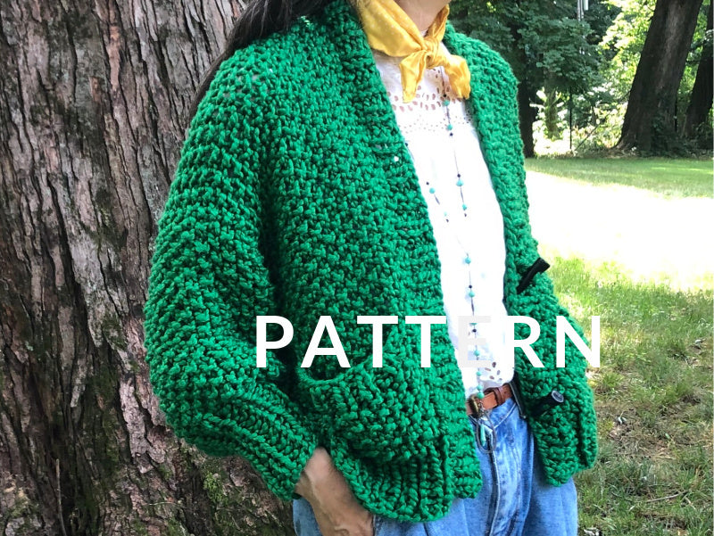 Everyday Cardigan PATTERN- Big Cotton