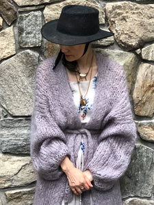 DIY Kit - Long Cardigan - Mohair So Soft