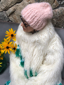 DIY Kit - Slouchy Beanie - Fluffy Alpaca