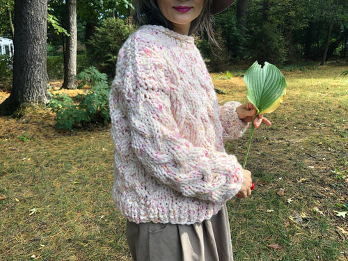 READYMADE-Pretty In Cables Sweater - Merino-SALE