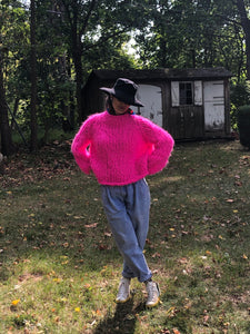 DIY Kit - Fluffy Sweater - Fluffy Alpaca