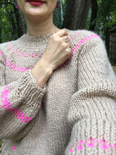 Load image into Gallery viewer, Scandinavian Sweater PATTERN- Dream (Merino Worsted)