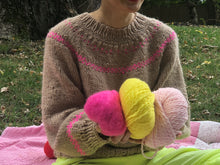 Load image into Gallery viewer, DIY Kit - Scandinavian Sweater - Dream (Merino Worsted)