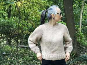Top-Down Sweater PATTERN- Dream (Merino Worsted)