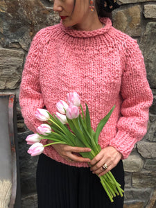 DIY Kit - Top-Down Sweater - Merino No. 5