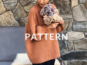 My Favorite Sweater PATTERN- Dream (Merino Worsted)