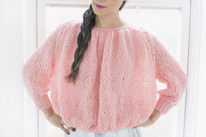 DIY Kit - Rhinebeck Sweater - Dream (Merino Worsted)