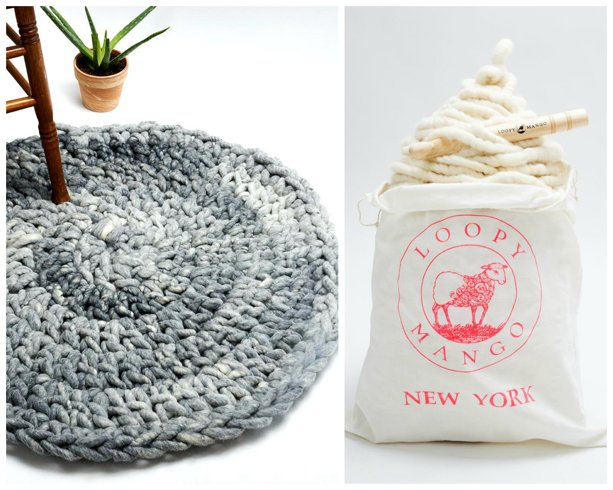 Crocheted Round Rug Class