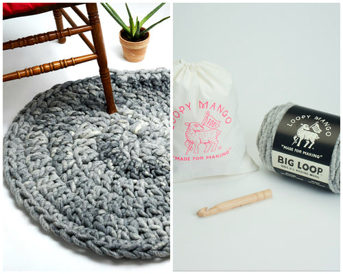 DIY Kit - Crochet Aspen Rug 32