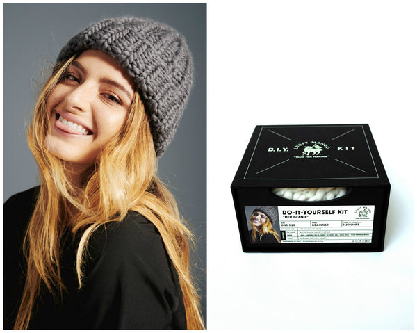 DIY Box Kit - Her Beanie