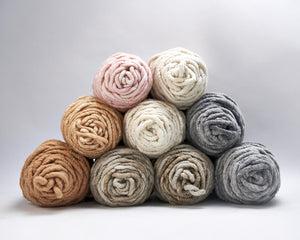Ivory, Heather Gray, Oatmeal, Blush, Cotton Candy, Sahara