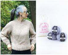 Load image into Gallery viewer, DIY Kit - Top-Down Sweater - Dream (Merino Worsted)
