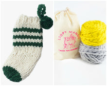 Load image into Gallery viewer, DIY Kit - Christmas Stocking - Merino No. 5