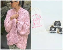 Load image into Gallery viewer, DIY Kit - Recluse Cardigan - Big Cotton