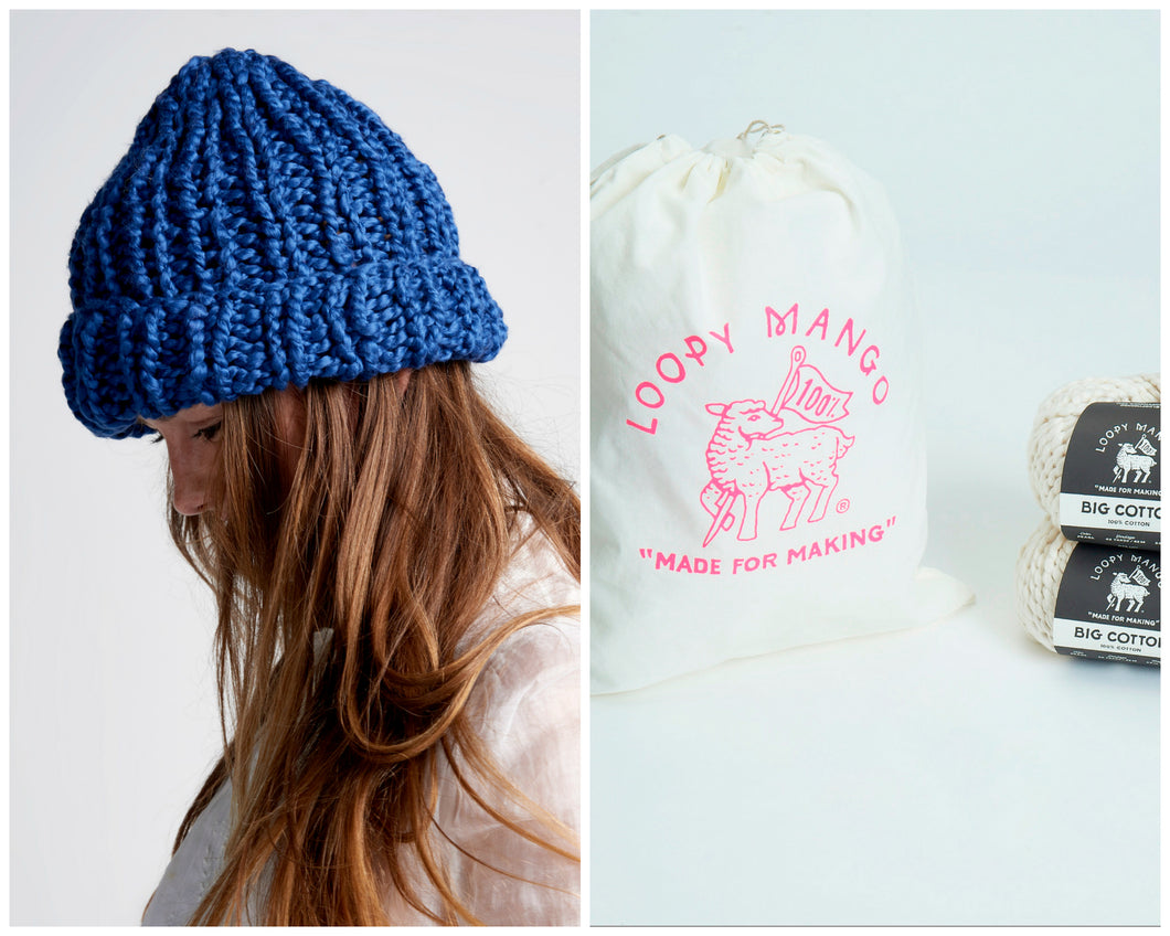 DIY Kit - Beanie - Big Cotton