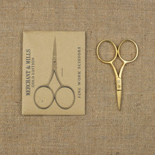 Load image into Gallery viewer, Merchant & Mills Fine Work Gold Scissors
