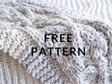 Load image into Gallery viewer, FREE Tree of Love Throw - PATTERN - Big Loop