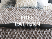 Load image into Gallery viewer, FREE Moss Stitch Blanket - PATTERN - Big Loop