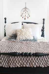 DIY Kit - Moss Stitch Blanket - Big Loop