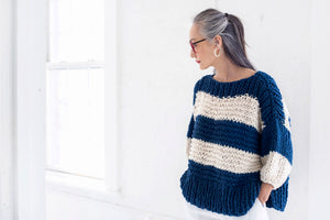 DIY Kit - Seaside Sweater - Big Cotton