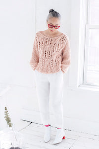 Off the Shoulder Sweater - Cotton