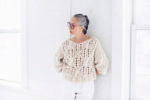 DIY Kit - Off the Shoulder Sweater - Big Cotton