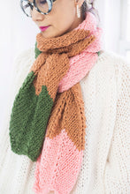 Load image into Gallery viewer, DIY Kit - 3 Color Chevron Scarf - Merino Worsted