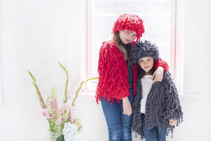 DIY Kit - Mini Fringe Coat - Big Cotton