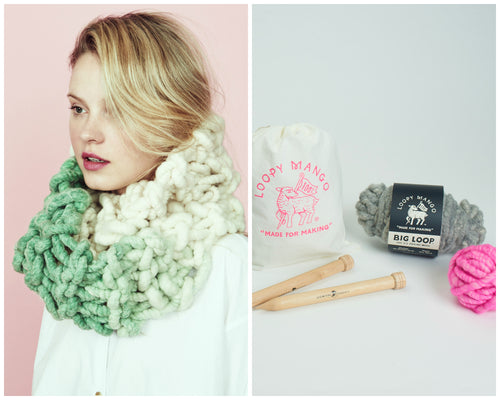 DIY Kit - Dream Lover Cowl - Big Loop