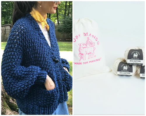 DIY Kit - Everyday Cardigan - Big Cotton