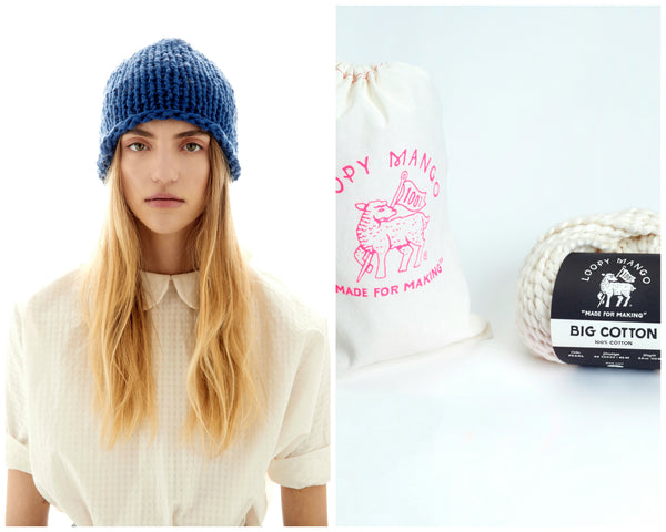 DIY Kit - Everyday Beanie - Big Cotton