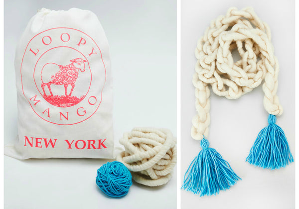 DIY Kit - Flower Child Tassel Scarf
