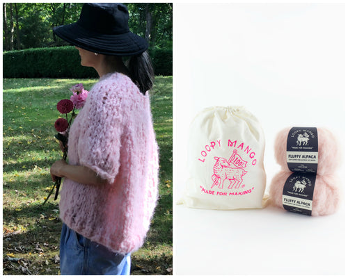 DIY Kit - Fluffy Top - Fluffy Alpaca