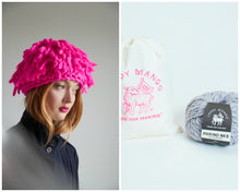 Load image into Gallery viewer, DIY Kit - Fringe Hat - Merino No. 5